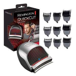 Remington Quick Cut Hair Clippers with 9 Comb Lengths Curved Blade for Rapid Hair Trimming Detailing with Storage Pouch £24.99 @ 7dayShop