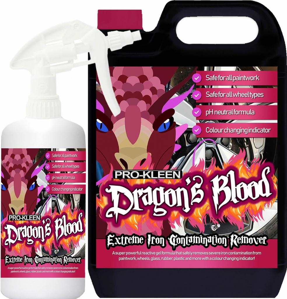 Pro-Kleen Dragon's Blood 6L Bundle Fallout Remover Alloy Wheels + Paintwork £23.74 @ Prokleen