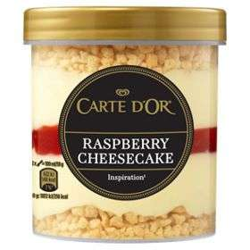 Carte D'or Raspberry Cheesecake Icecream only £1 @ Heron