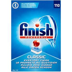 110 Finish Classic Dishwasher tablets £7.99 instore  B&M