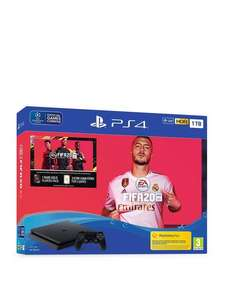 Sony PS4 1TB console + FIFA 20 bundle £229 @ Very