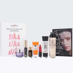 Breast Cancer Campaign Beauty Box £25 and free delivery + £15 donation to BCRF for every box sold @ Estee Lauder