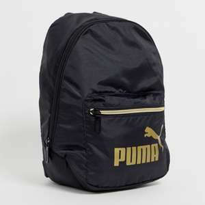 Puma Core Archive mini black backpack £8 + £3 delivery + 2.1% TCB @ Asos