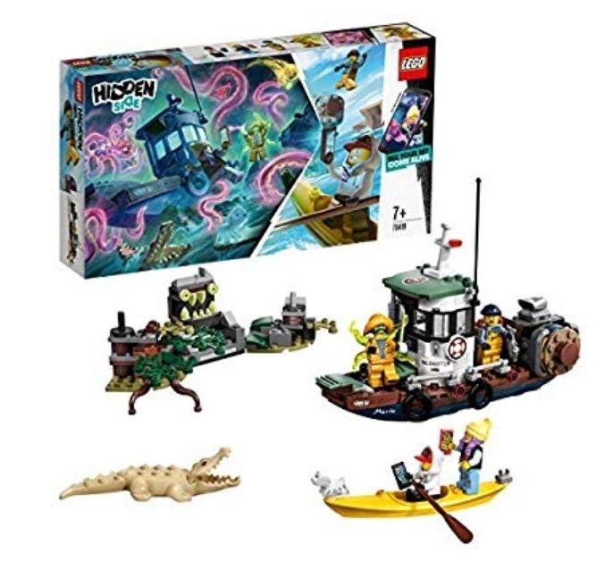 LEGO 70419 Hidden Side Wrecked Shrimp Boat £18 Prime Delivered @ Amazon.co.uk