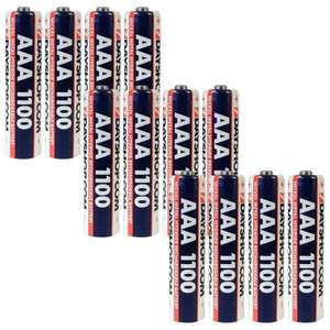 7dayshop 1100mAh AAA Rechargeable Batteries NiMH High Performance - Extra Value 12 Pack - £7.49 delivered @ 7dayshop