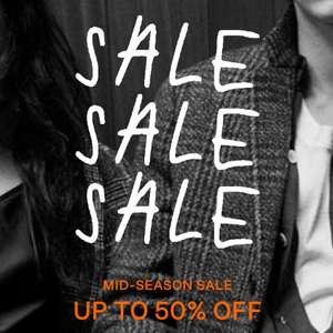 AllSaints Mid Season Sale up to 50% off + Extra 20% Off