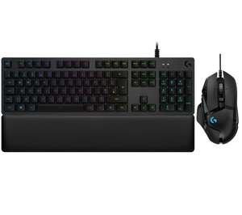 LOGITECH G513 GT Mechanical Gaming Keyboard & G502 Hero Optical Gaming Mouse Bundle - £139.99 @ Currys