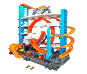 Hot Wheels City Ultimate Garage with Shark Attack £62.70 Amazon