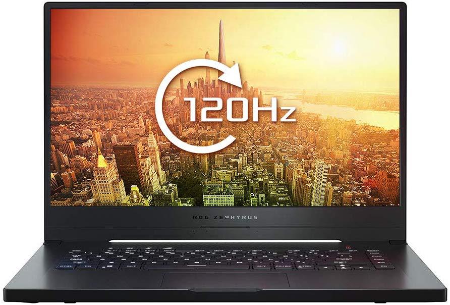 Asus ROG  Zephyrus GA502 120hz 512GB SSD, 8GB RAM, Ryzen R7, Gtx 1660Ti 8GB Gaming Laptop £849.99 @ Amazon