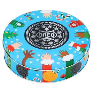 Oreo Christmas Tin 350G £2.50 / Celebrations 240g £1.50 @ Tesco