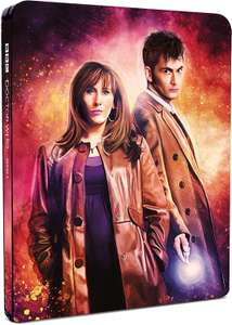 Doctor Who - Series 4 Limited Edition Box Set Steelbook £16.37 (Prime) / £19.36 (non Prime) at Amazon