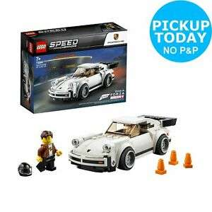 LEGO 75895  Speed Champions 1974 Porsche 911 Turbo 3.0  - 7+ Years  for £8.50 Free Click & Collect @ Argos on eBay