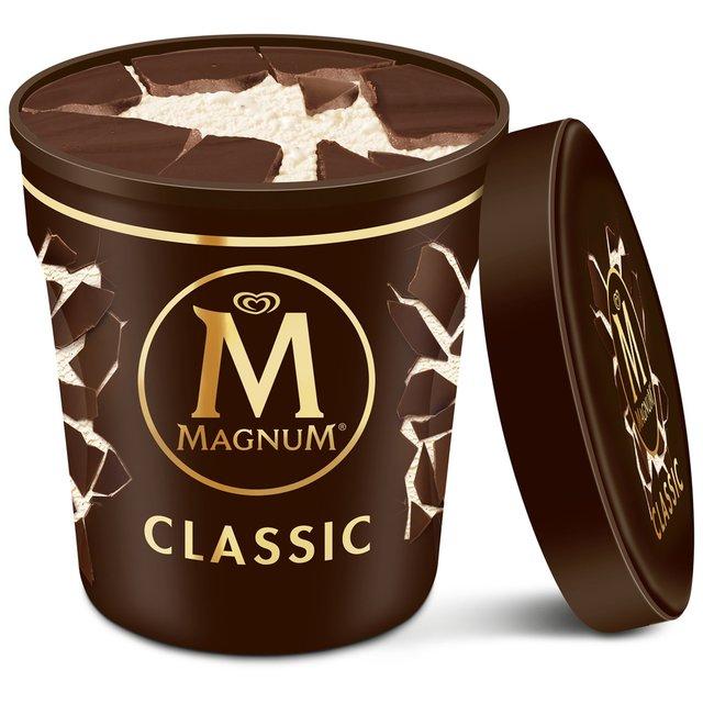 Magnum ice cream tub 440ml @ Farmfoods - £1.39