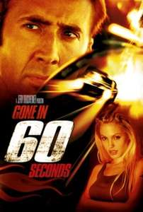 Gone in 60 Seconds £3.99 itunes