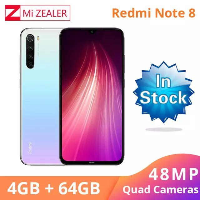 China version - Xiaomi Redmi Note 8 4GB RAM 64GB ROM Smartphone £121.35 @ Mi Zealer /Aliexpress