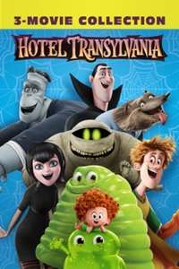 Hotel Transylvania 3-Movie Collection (All in 4K) £12.99 @ iTunes (Lowest Price)