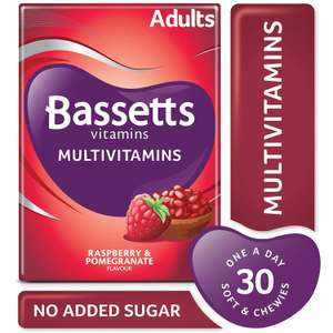 Bassetts Multivitamins for adults - 90p | Sudafed congestion and headache relief - £1 | Nurofen Express - 74p instore @ at Asda Dewsbury