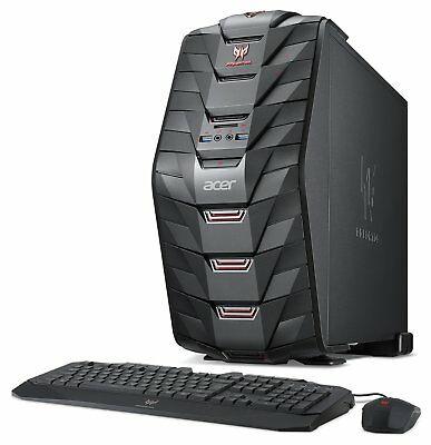 (Grade A) Acer Predator G3-710 Intel i5 3GHz 8GB 1TB 128GB Nvidia GTX1060 Gaming PC Black £591.99 @ Argos Ebay
