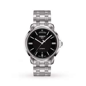 Tissot Automatics III Day Date Watch - T0659301105100 - £290 @ Goldsmiths