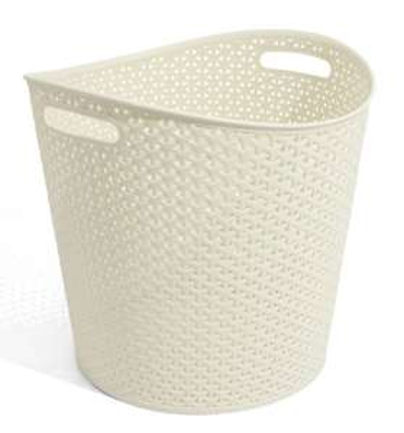 Curver Knit Round Clothes Laundry Hamper Basket 30L £6.98 delivered @ Clearenceshed