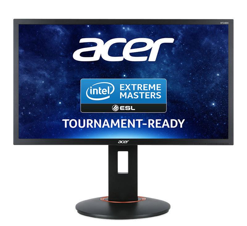 "Acer XF240H 24"" Full HD FreeSync Gaming Monitor £143.47 @ Ebuyer"