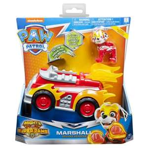 Paw Patrol Mighty Pups Vehicles 3 for 2 £15 @ Boots (Delivery to Store not available)