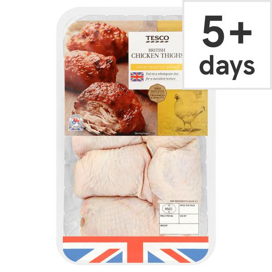 Tesco British Chicken Thighs 1Kg / Chicken Legs 1Kg £1.75 @ Tesco