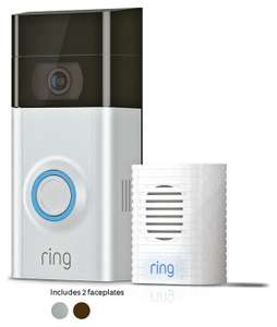 Ring Video Doorbell V2 and free Ring Door Chime - £139 at Screwfix