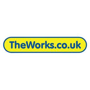 Free delivery on a £5 spend @ The Works (Works on 2 for £10 gifts, Upto 70% off Disney & so on)