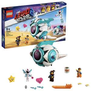 LEGO 70830 Movie 2 with with Emmet and Lucy Minifigures, plus Sweet Mayhem Mini doll Building Set £30 at Amazon