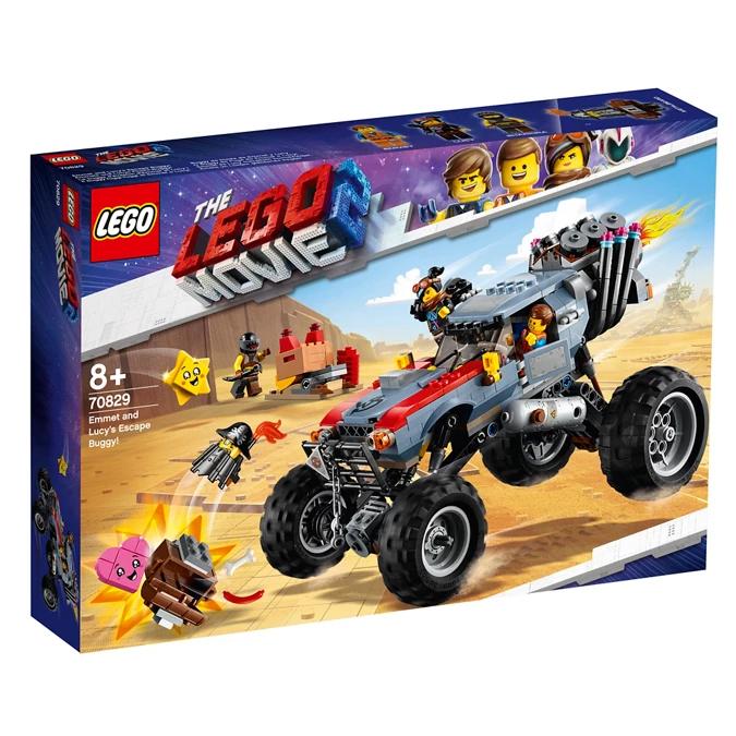 Lego Movie 2 Emmet and Lucy's Escape Buggy 70829 £22.50 @ Debenhams free c&c