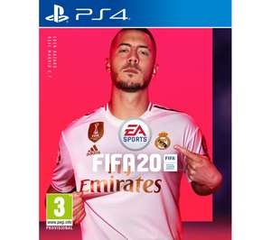Free £10 currency card when you buy FIFA 20 ps4 / xbox one £49.99 at Currys instore using a code via vouchercloud app