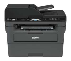 Brother MFC-L2710DW A4 Mono Laser Printer, Wireless and PC Connected, Print, Copy, Scan, Fax and 2 Sided Printing - £119.99 @ Amazon