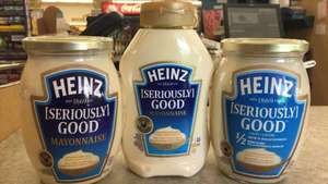 Heinz Seriously Good Mayonnaise Large 680g jars are only £1 @ Farmfoods