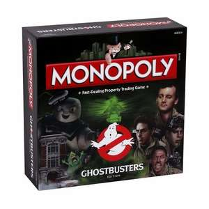 Monopoly - Ghostbusters Edition Board Game £19.98 delivered @ Onbuy / phillipstoys