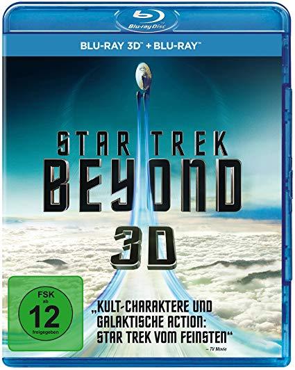 STAR TREK - Beyond 3D Blu-ray now £5 (Prime) + £2.99 (non Prime) at Amazon