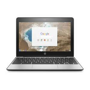 """HP Chromebook 11 G5 11.6"""" Lightweight Touchscreen Laptop for £166.49 delivered (using code) @ Laptop Outlet / eBay"""