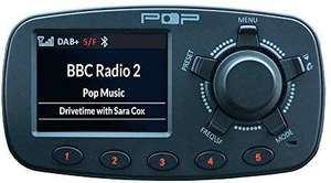 POPyourCAR 3.0 - DAB+ Radio with Bluetooth, Handsfree,Traffic Announcements - £29.95 @ Amazon / Dispatched from and sold by iZilla.
