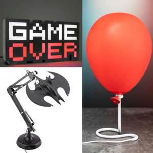 20% Off USB Lighting Using Code - EG: Pre-Order - IT Pennywise Balloon Lamp £26.98 Delivered @ IWOOT