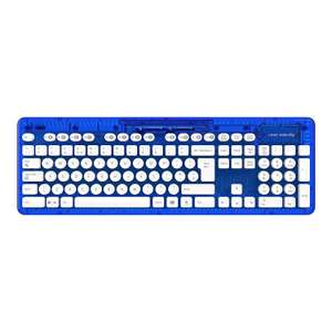PDP Rock Candy Wireless Qwerty Keyboard Blueberry Bloom With USB Micro Receiver  (New) £7.50 delivered @ Tesco Ebay Outlet