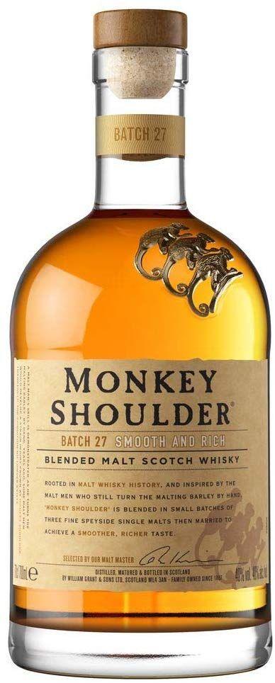 Monkey Shoulder Whisky 70cl £22 @ Amazon