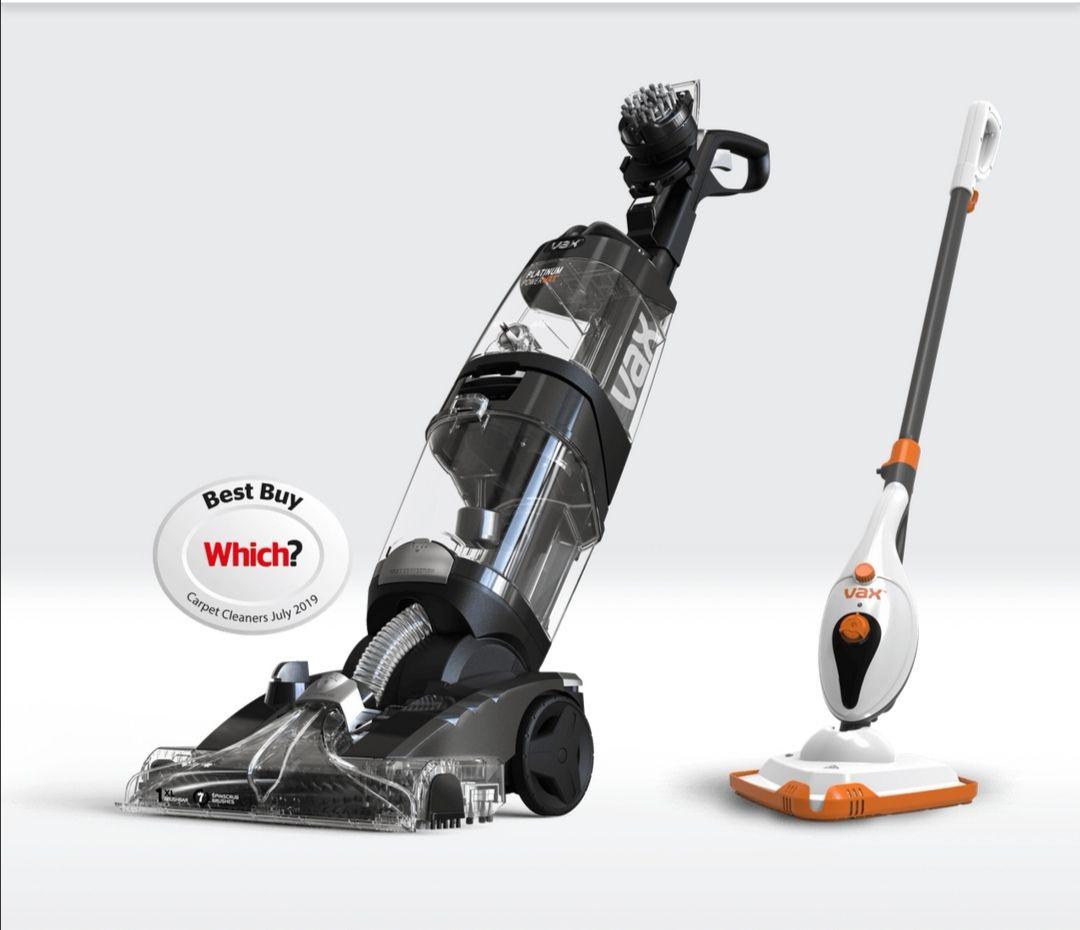 Vax Platinum Power Max Carpet Cleaner + Free Steam Cleaner £249 @ Vax Shop