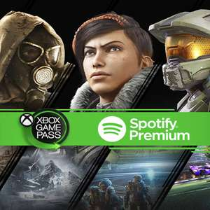 Xbox Game Pass Ultimate for £1 and 6 months Spotify Premium New Customers