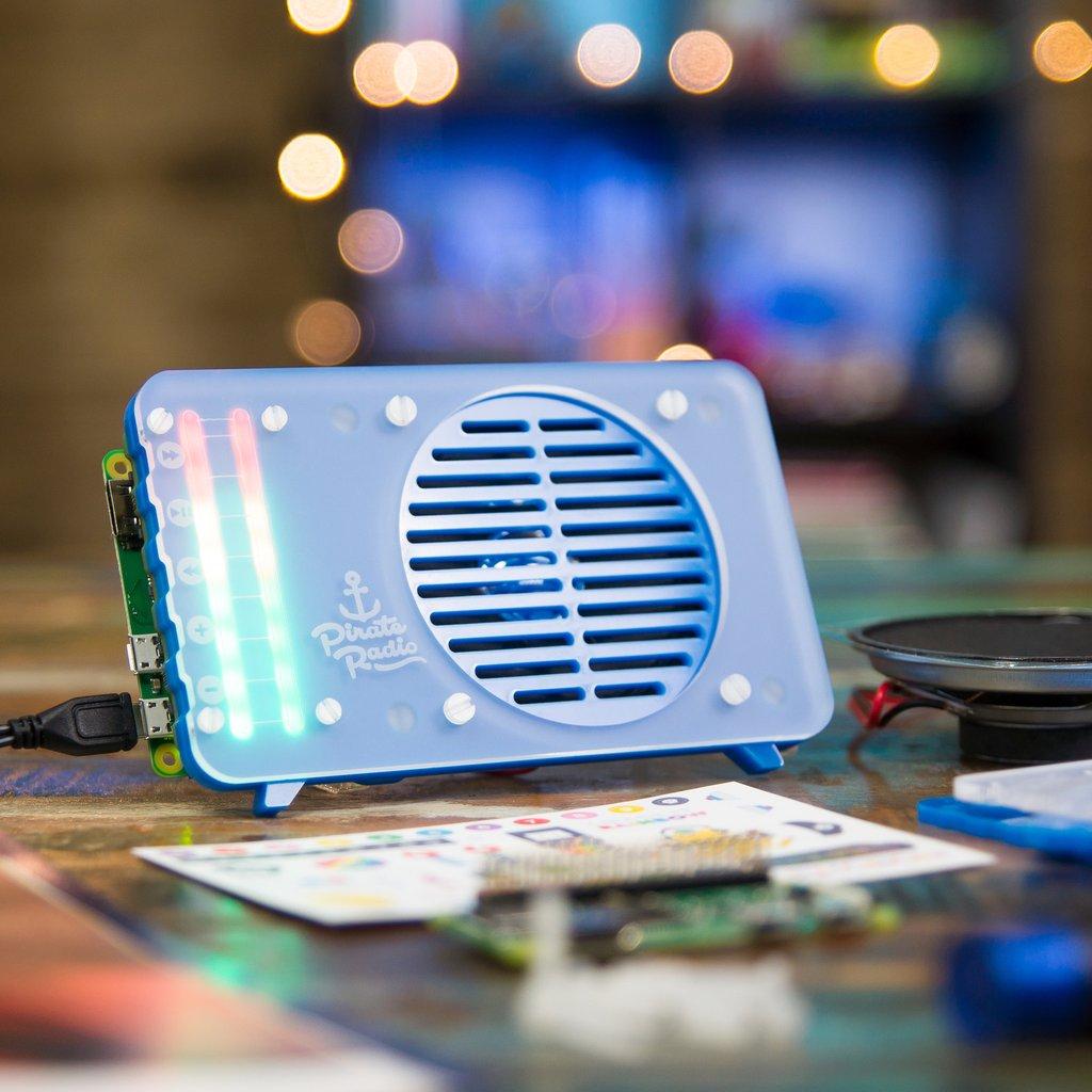 Raspberry Pi Zero W Pirate Radio Project Kit £21.66 @ CPC