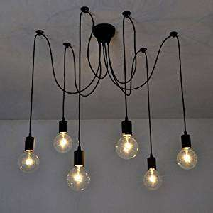 Ceiling Spider Lamp Light- Sold by Meelady / Fulfilled by Amazon - £16.99 Prime / £21.48 non-Prime
