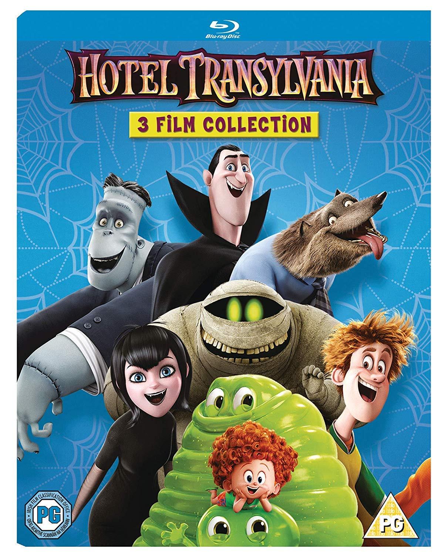 Hotel Transylvania 3 Film Collection Blu-Ray Boxset - £8.50 (+£2.99 Non Prime) @ Amazon