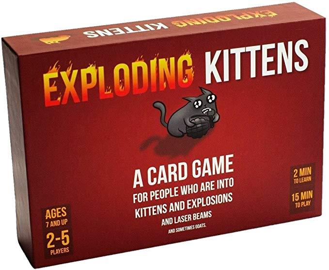 Exploding Kittens Card Game @ Amazon Prime - £13.50 (+£4.49 non-Prime)