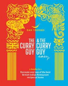 The Curry Guy and Curry Guy Easy special 2in1 book free to store delivery £8 @ WHSmith