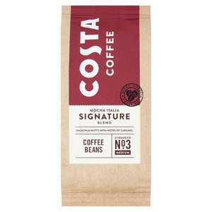 Costa Beans & Ground Coffee at Tesco - £2