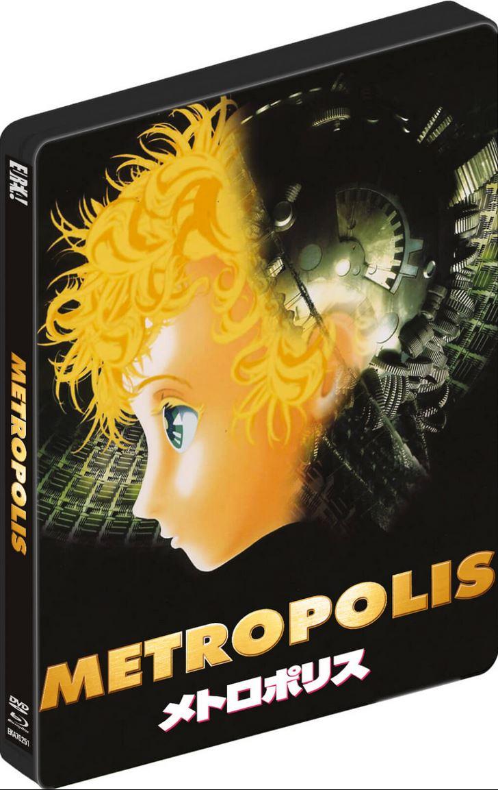 Osamu Tezuka's Metropolis Blu-Ray - Dual Format Limited Edition Steelbook Includes DVD - £12.98 delivered @ Zavvi